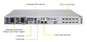 Supermicro SYS-1028R-WC1RT Xeon E5-2600 2x10Gb Server Barebone