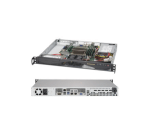 Supermicro SuperServer 5019S-ML Short 1U Xeon E3-1200 i3 1S 64GB  2x3 5/3x2 5 1xSATA 1xPS 2x1GbE Web Mail Network Security Appliance IoT  Digital Server