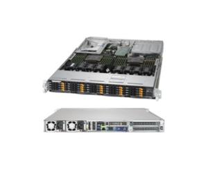 Supermicro 1029UZ-TN20R25M 1U Skylake Scalable SP Xeon 2S 3TB 20x2 5NVMe  2x25GbE SFP28 R1600W VM Cloud IoT Ultra Bandwidth Low Latency Storage Server