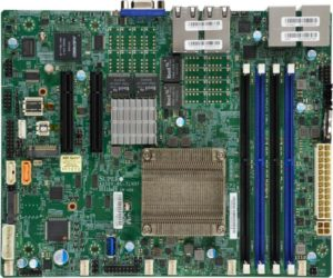 Supermicro A2SDV-12C+-TLN5F Intel Atom C3858 SoC 12Core 256GB M 2 1xPCIe  4x10GbE 1xGbE Embedded IoT Gateway Security Appliance Server Motherboard
