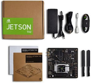 NVIDIA Jetson TX2 Developer Kit Pascal Linux SuperComputer : IoT Artificial  Intelligence Machine Learning Robots Drones Smart Cameras Medical Devices