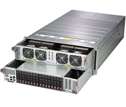 Dihuni OptiReady Supermicro 4029GP-TVRT-V8-2 8 x NVIDIA Tesla V100 SXM2  32GB NVLink GPU 2S Xeon 6148 1 5TB 4x4TB SSD OmniPath HPC Deep Learning  Server
