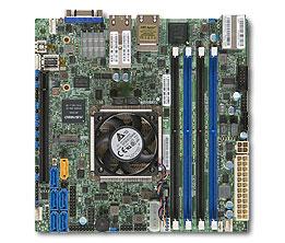 Supermicro X10SDV-6C-TLN4F Intel Xeon D-1528 6C SoC 128GB DDR4 2x10GbE  2x1GbE IPMI Embedded IoT Gateway Network Security Appliance Server  Motherboard