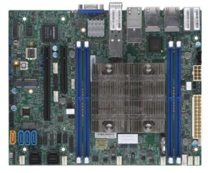 Supermicro X11SDV-8C-TP8F Intel Xeon D-2146NT 8C SoC 256GB 2x10G SFP+  2x10GbE 4xGbE Quick Assist M 2 NVMe Embedded IoT Security Appliance  Motherboard