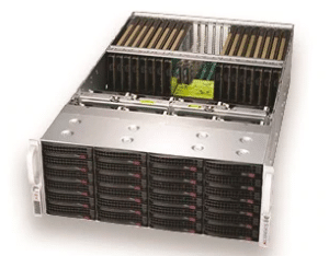 Dihuni OptiReady Supermicro SYS-6049GP-TRT 20 x NVIDIA Tesla T4 GPU 256GB  RAM 2x1TB SATA 2S Xeon 6140 CPU 2x10GbE Deep Learning Inference AI Server