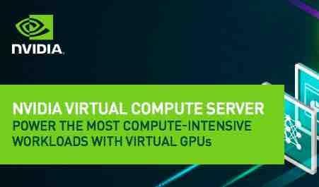 NVIDIA vComputeServer